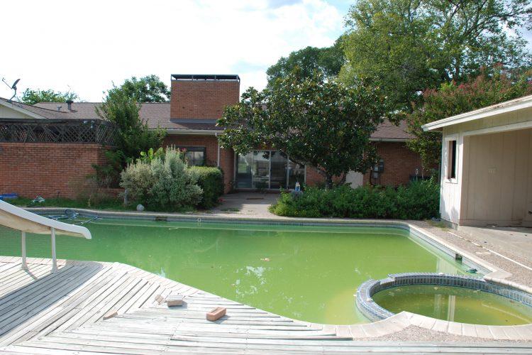 pool house remodel