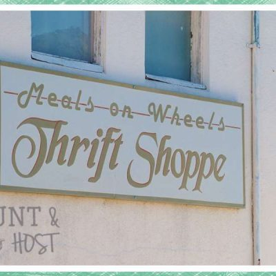 Where We Hunt: Thrift Shops & Resale Stores
