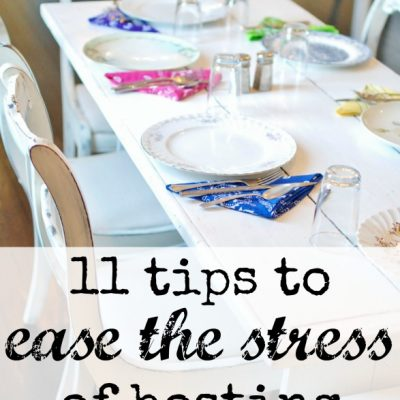 11 Tips To Ease the Stress of Hosting an Event