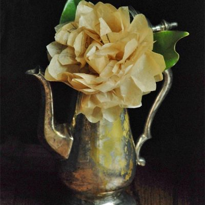 How to Make Paper Flowers with Old Sewing Patterns
