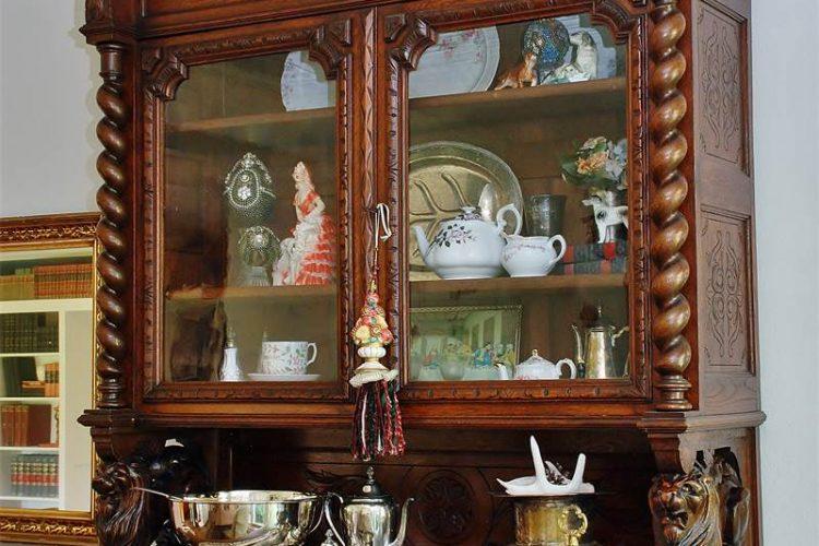 glass china hutch hunt board