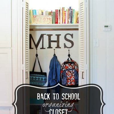 A Gathering Place: Back To School Storage