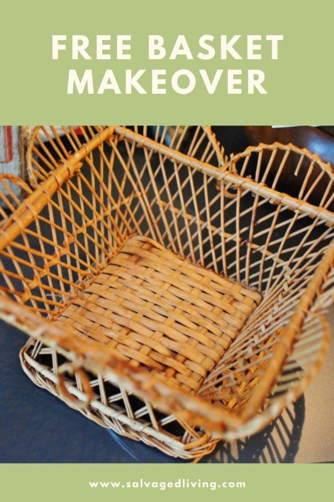free basket makeover