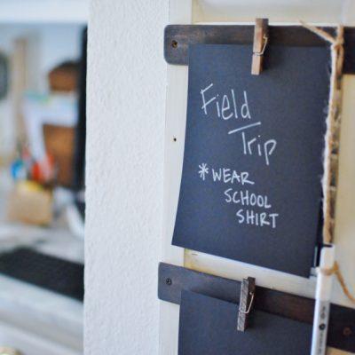Shutter To Do List: Kitchen Command Center