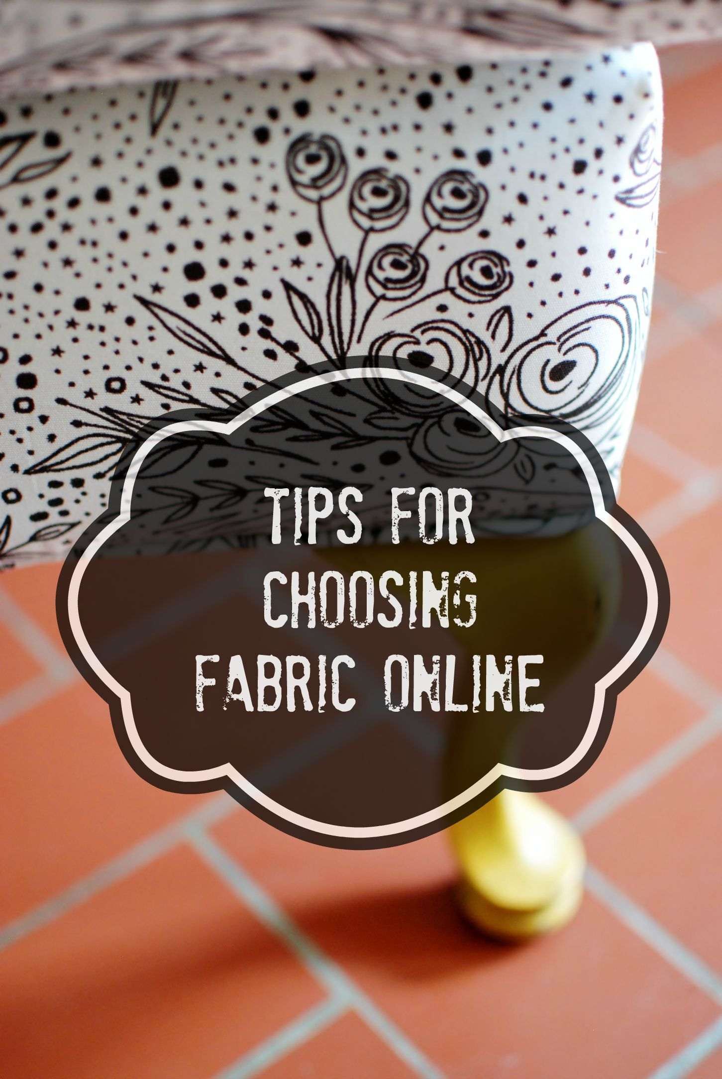 Choosing Fabric Online