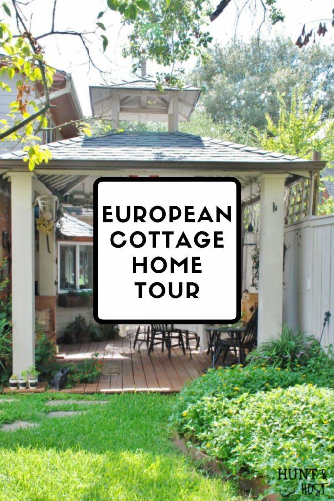 outdoor gazebo European cottage