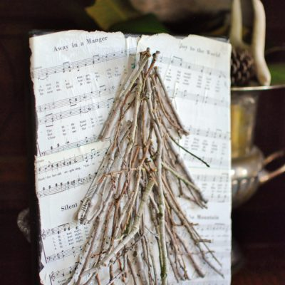 Artistic Advent: Week One, Twig Tree