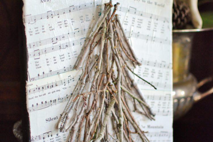 Artistic Advent: Week One, Twig Tree