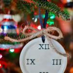artistic advent ann voskamp clock face ornament huntandhost.net