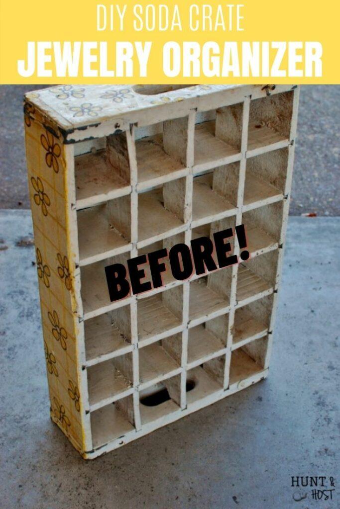 soda crate before