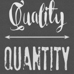 quality over quantity biblical thoughts on the phrase plus a FREE PRINTABLE!