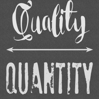 Quality Over Quantity: Free Printable