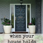 When your house holds you captive. Projects and tips to get you through the tough times. www.huntandhost.net