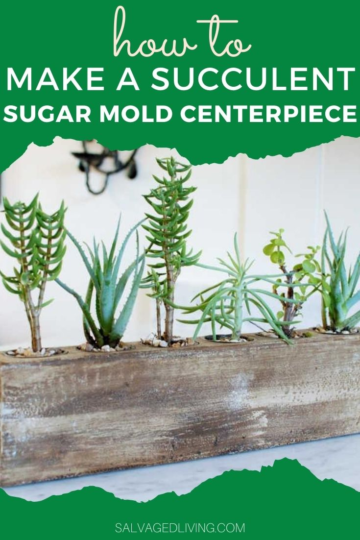 DIY sugar mold centerpiece