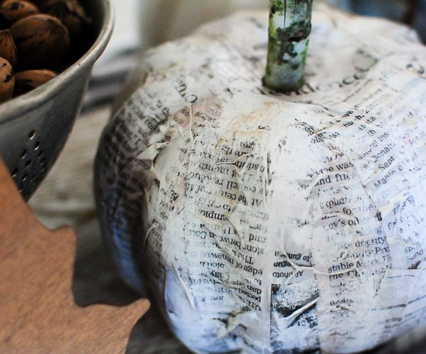 Black & White Pumpkin DIY