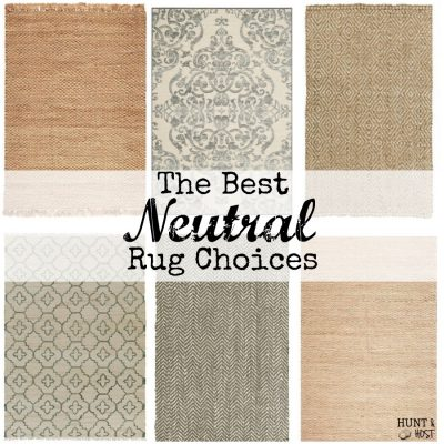 My Favorite Neutral Rug Choices