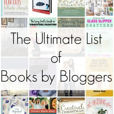 The Ultimate List of Books By Bloggers Gift Guide