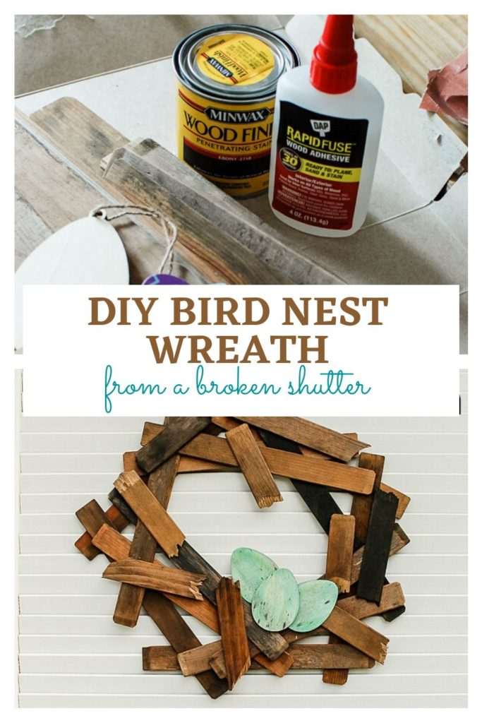 DIY Bird  Nest Wreath