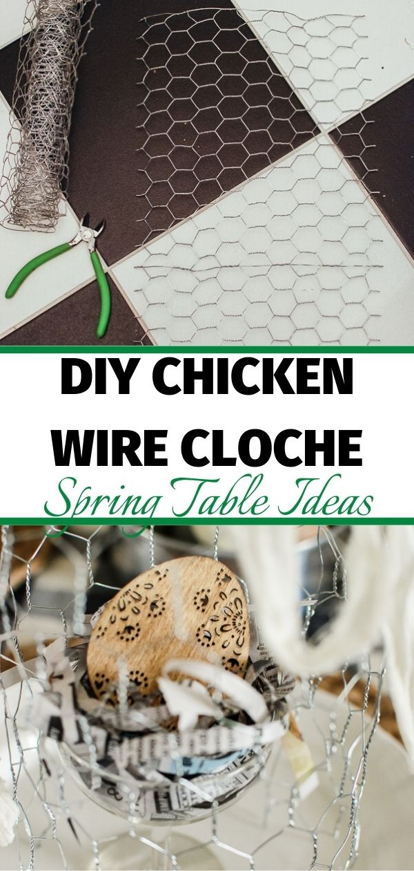 chicken wire cloche