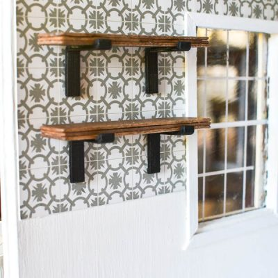 Dollhouse Finishes, Trim and Mouldings: One Room Challenge Week 5