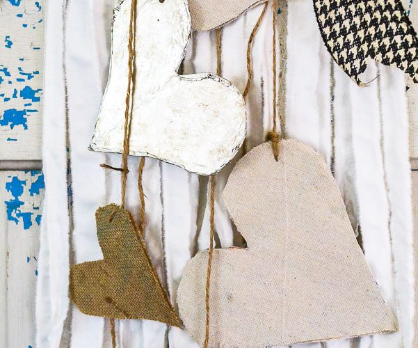 Purge to Project: Linen Closet Wall Hanging