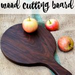 Instructions on how to care for your wood cutting board, old or new. The easiest way to sanitize and remove stains from your cutting board or butcher block.
