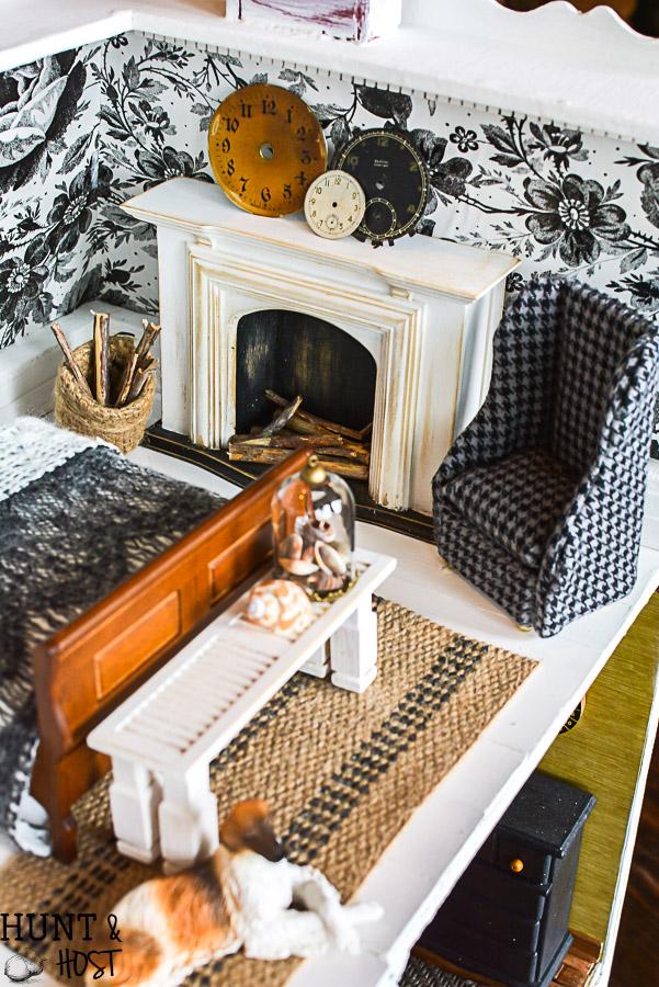 Dollhouse Master Bedroom Decor Salvaged Living