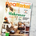 Behind the scenes of my Flea Market Décor cover feature