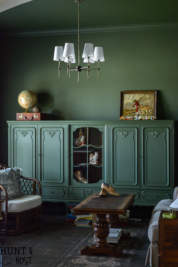 Moody Green Study Salvaged Living