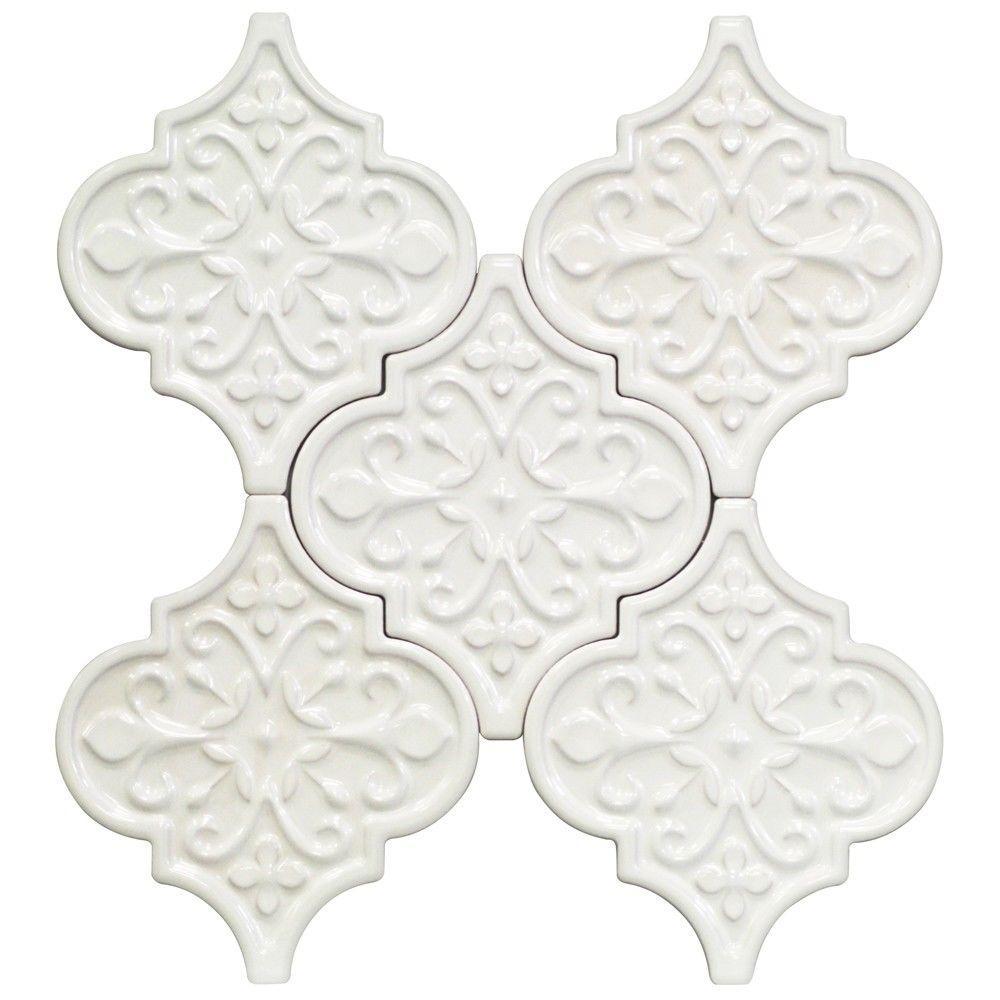 Tile Backsplash Vintage Ceramic