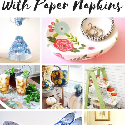 Amazing Transformations With Paper Napkins