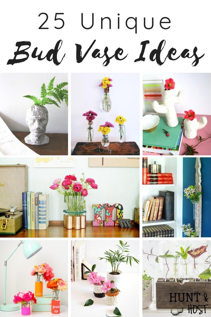Idee Deco Vase Rond unique bud vase ideas - salvaged living