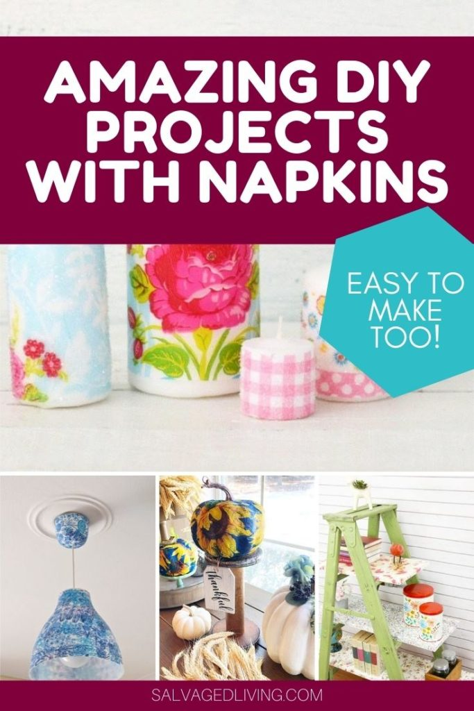 diy napkin projects