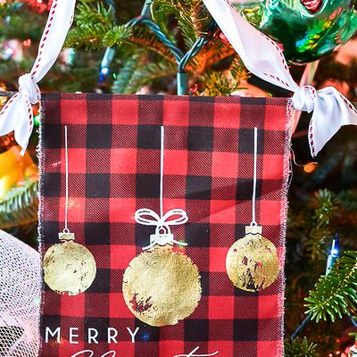 Handmade Fabric Christmas Ornaments