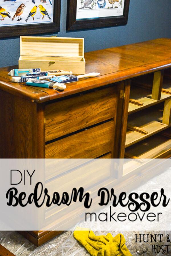 Diy Bedroom Dresser Makeover Salvaged