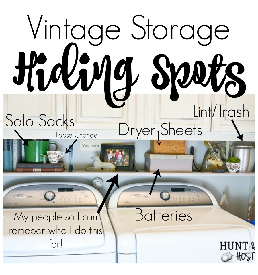 vintage storage ideas - Salvaged Living