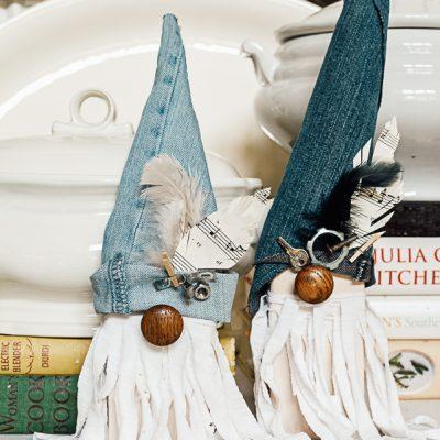 DIY Junk Gnomes