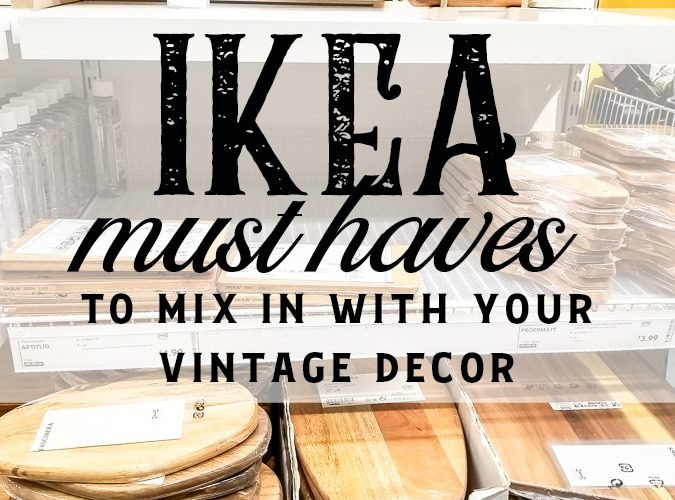 Does IKEA go with classic decor styles or can I mix IKEA with my vintage style? If you've ever wondered about these questions this list of must have items from IKEA will prove that IKEA products can go with just about any style! See ideas to add IKEA to your living room decor or make a cozy bedroom with IKEAS ideas! #IKEA #IKEAvintage #classichomedecor #IKEAideas #cheapdecor #inexpensivedecoratingideas #vintagestyle #classiclivingroom #cozybedroom