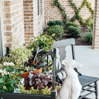 Porch Decorating On a Budget