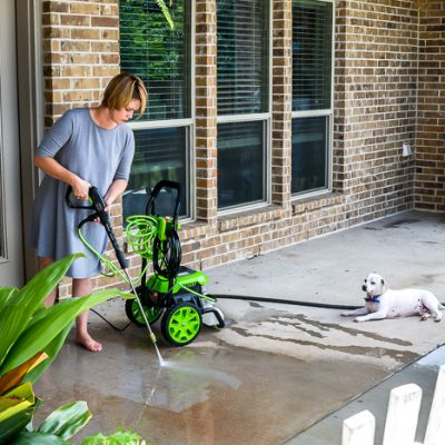 Power Washing Tips PLUS a Giveaway