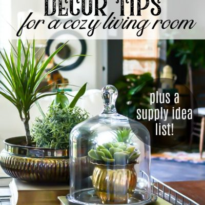 Coffee Table Decor Ideas for a Cozy Living Room