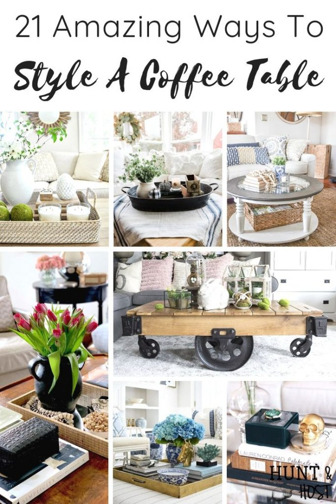 Coffee Table Decor Ideas For A Cozy Living Room Salvaged