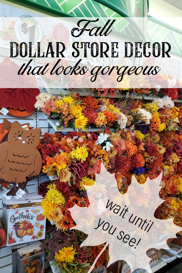 Get your fun fall decor ideas here all the fall craft projects are from the dollar store! This fall banner is so wuick and easy to make for your cozy fall home! #dollartree #dollarstorecraft #dollarstorehacks #falldecorideas #forthehome #dropclothprojects #dollartreediy