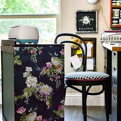 Floral Painted Furniture Tutorial