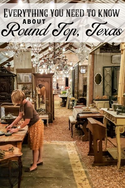 Everything you need to know about Round Top, Texas antiques week, where to stay in Round Top, what to eat in Round Top, what to do in Round Top and more. We had a fabulous girl's weekend getaway to shop the fields of Warrenton and explore the little town of Burton, Texas. Here are my tips and secret to a great Round Top vacation. #travelTexas #antiquesweek #RoundTopTexas #junkGypsies #Royerspiehaven #bedandbreakfast