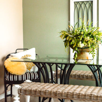 Rattan Furniture Makeover