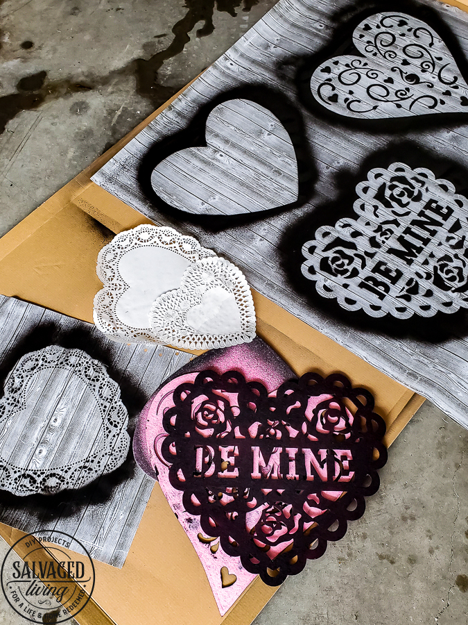 Decorate for Valentine's Day with this neutral black and white theme for stunning Valentine's Day decor and crafts. You can see how to get this look from dollar store supplies for your Valentine's Day decorating ideas! #dollarstoreValentinedecorations #DIYValentinesday #romanticValentinesdaydecor #vintageValentine