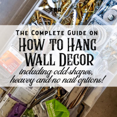Your Ultimate Guide on How To Hang Decor Items