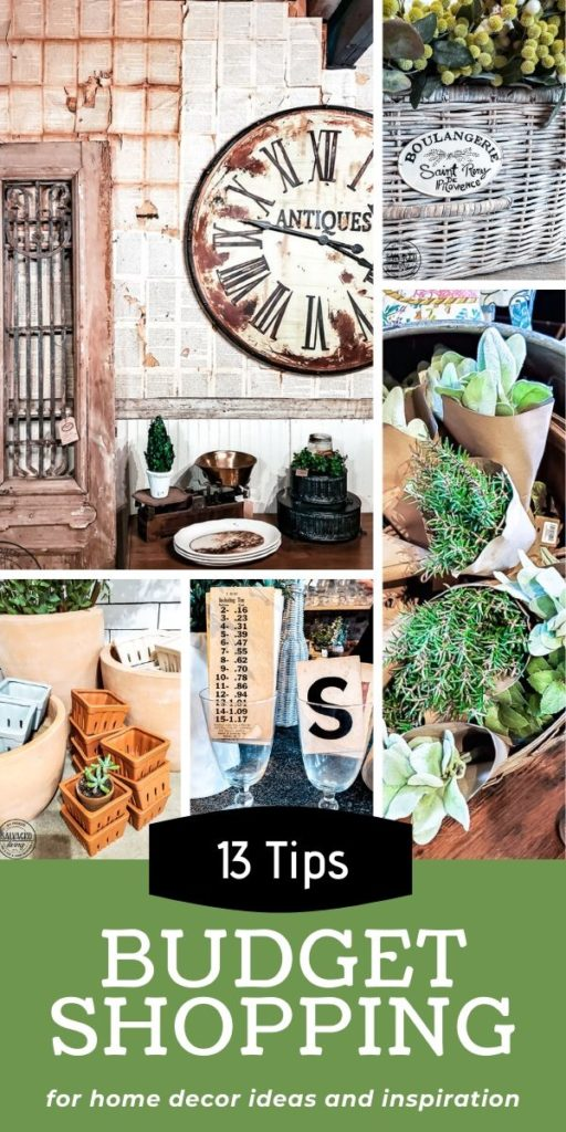 This is a great post about how to shop for budget friendly home decor ideas and inspiration without spending any money. It has tips on how to shop differently when you are in stores and restaurants to get free decorating ideas to take home and implement yourself for a cozy home on a budget. #cozyhome #budgethome #budgetdecor #freedecoratingideas