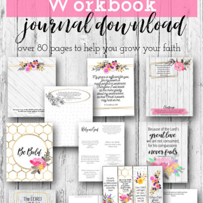 Rely On God Workbook Journal